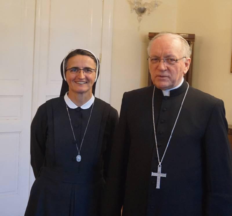 Biskup Škvorčević primio s. Kaju Ljubas