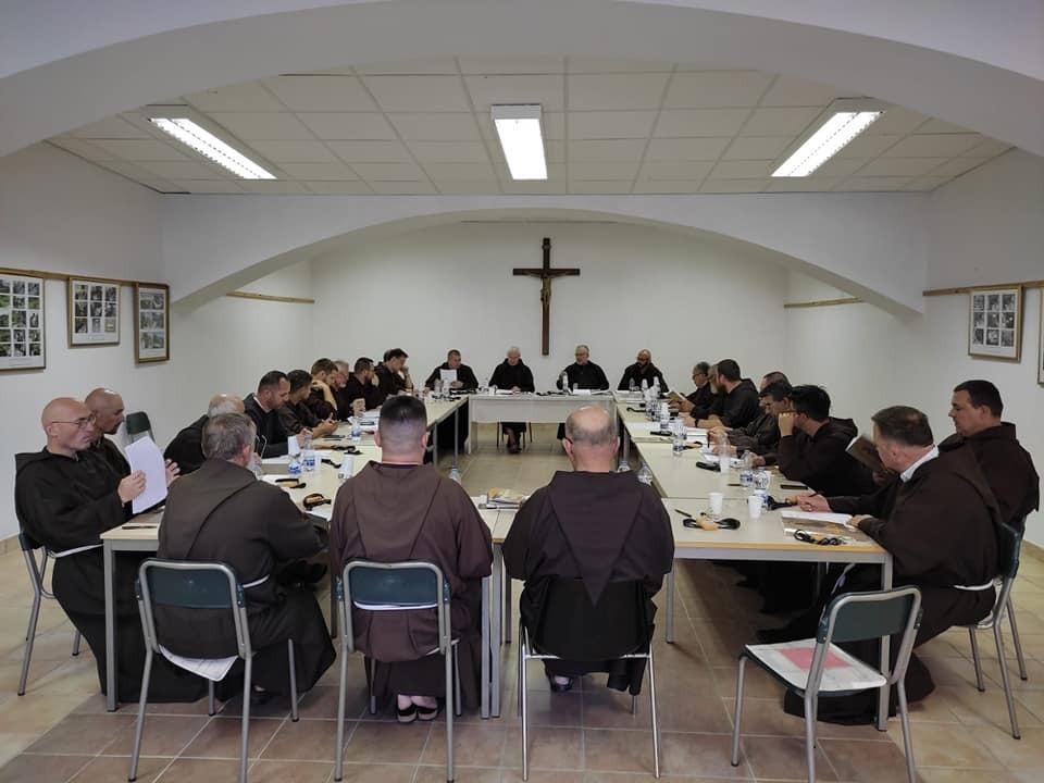 Zavrsio kapitul hrvatske kapucinske provincije 1