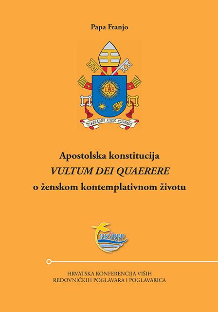 """Apostolska konstitucija """"Vultum Dei quaerere"""" o ženskom kontemplativnom životu"""