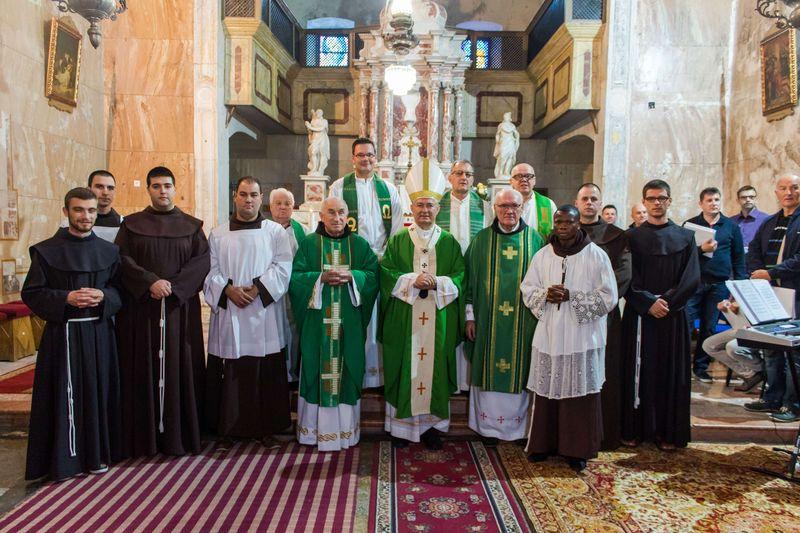 Misa povodom 550. obljetnice samostana franjevaca u Zaostrogu