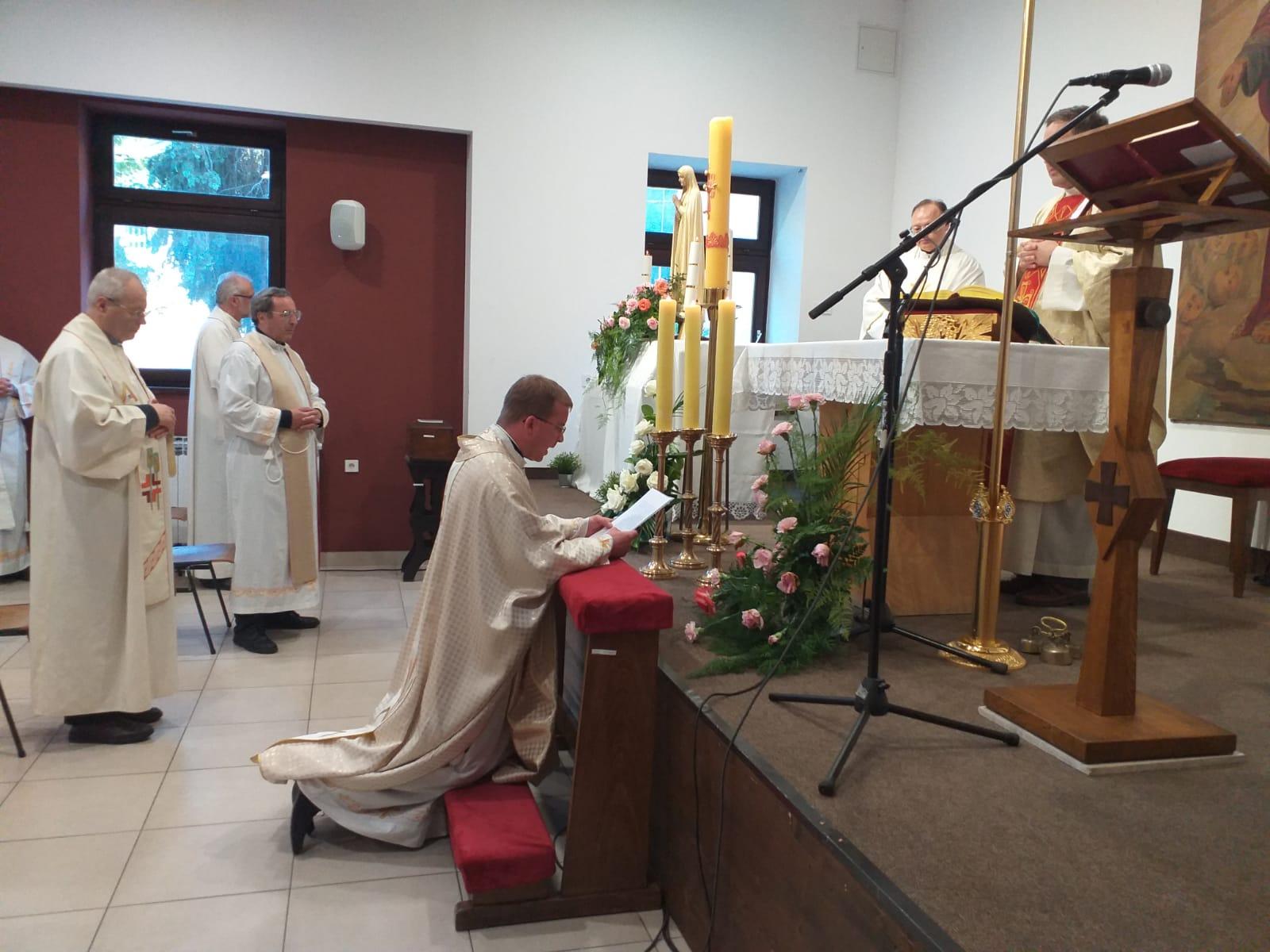 Isusovac Damir Kočiš položio svečane zavjete