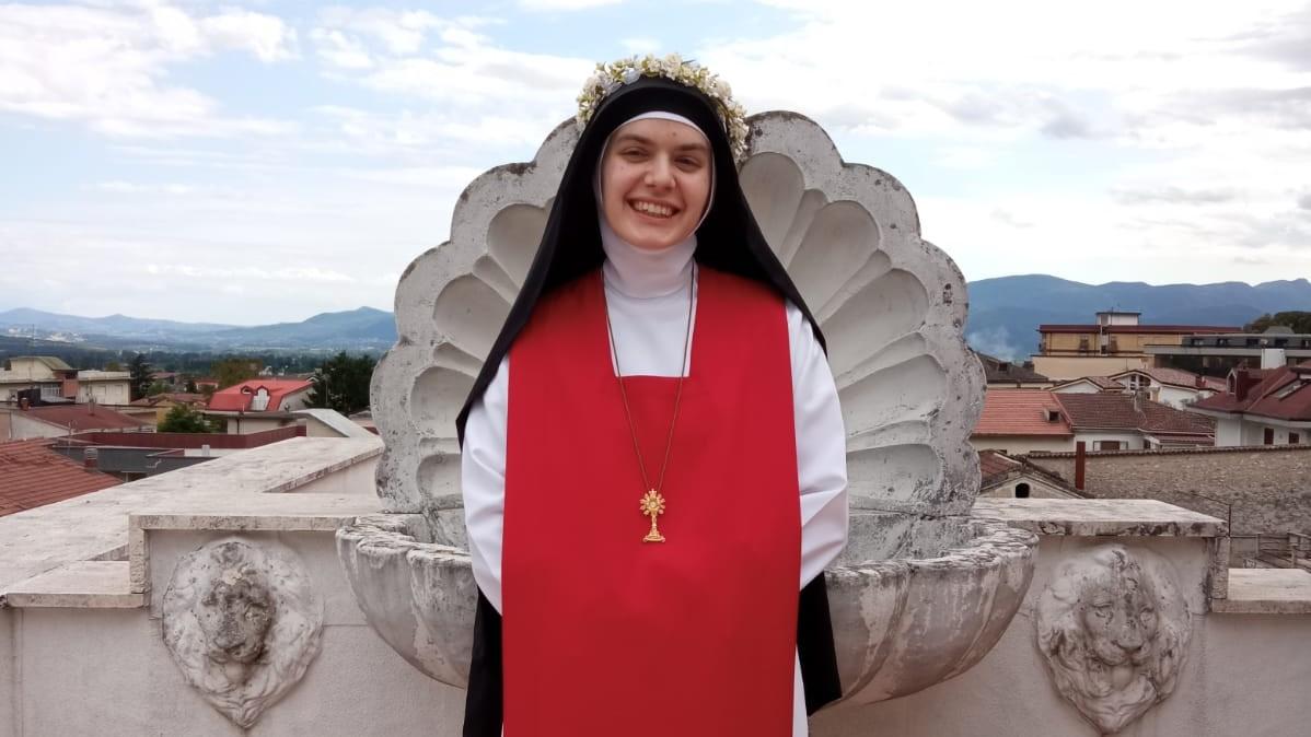 Svečani zavjeti Solinjanke s. Anne od Gospe Žalosne u Piedimonte Mateseu