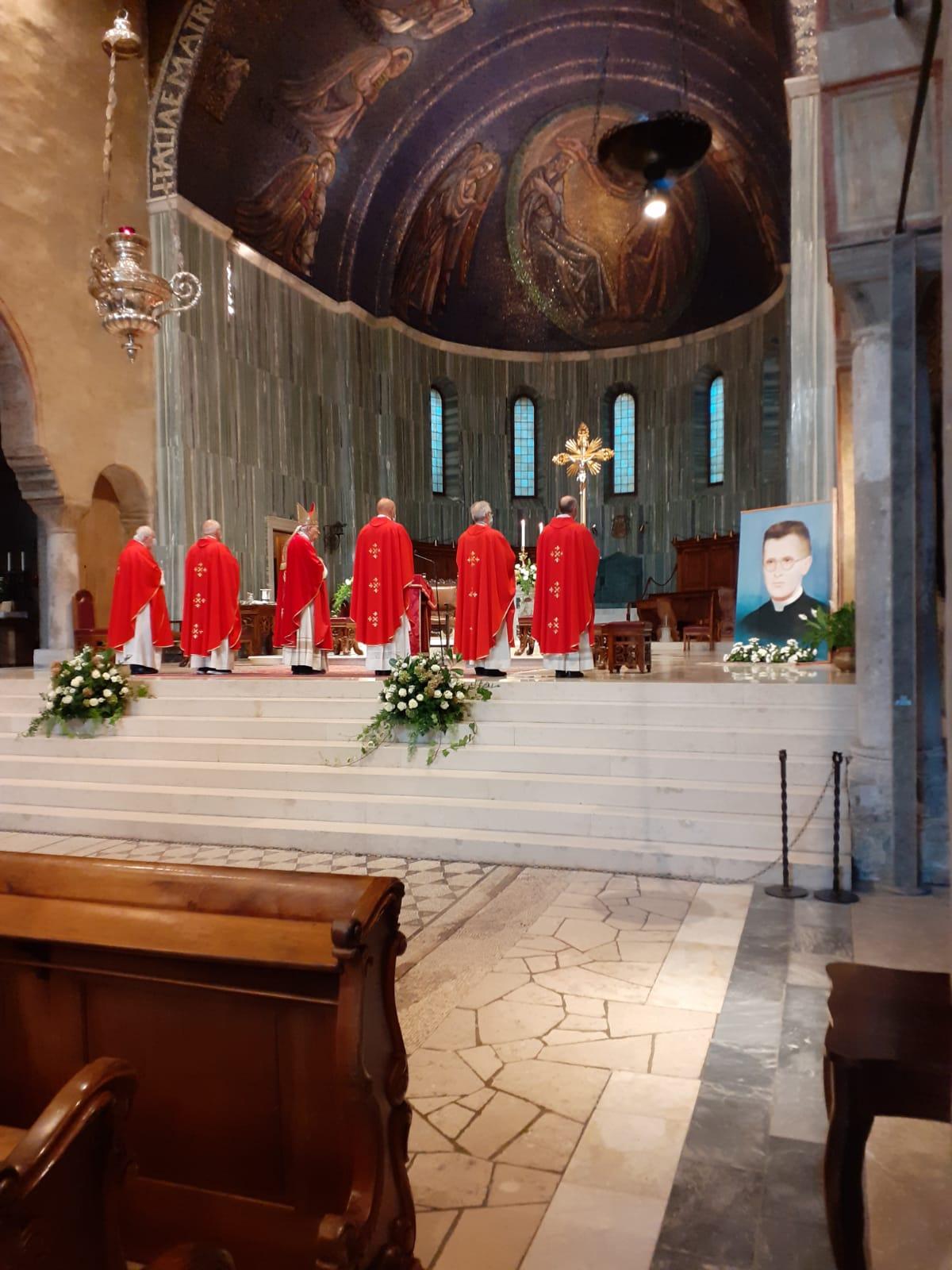 U Trstu slavljena misa povodom obilježavanja 74. obljetnice mučeništva bl. Francesca Bonifacija