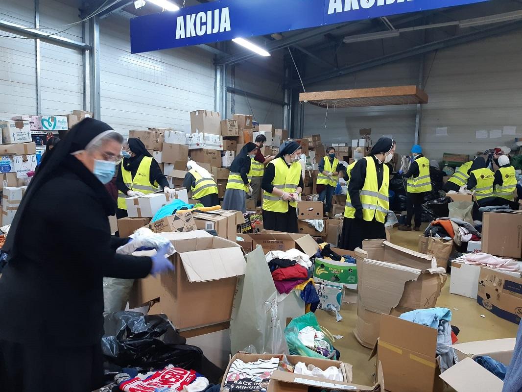 Hrvatska redovnicka konferencija pomaze stradalima u potresu 2